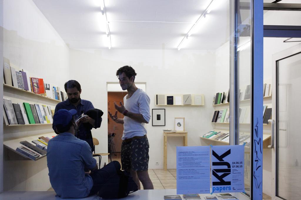 kijk::papers, Warte für Kunst, Kassel 2015